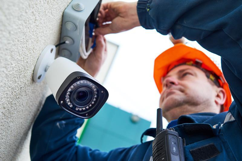 installation video surveillance